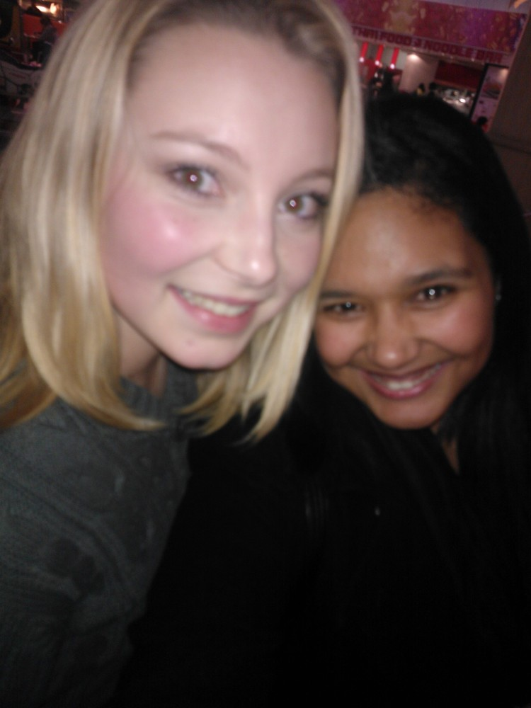 Sian Pressly cool viewer I made friends with.