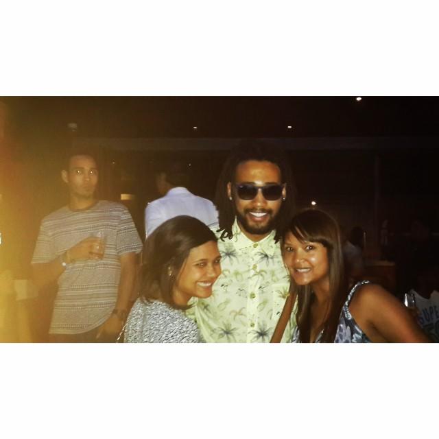 Shimmy Beach Club with my peeps!