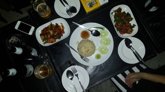 Our first Thai meal was so yum! I love Chicken cashew!