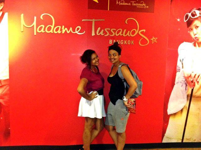 Madame Tussauds!