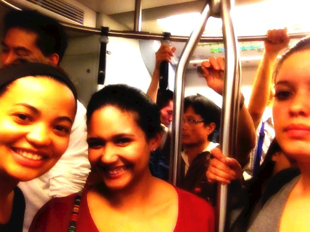 Train Adventures. Loved the public transport system in Bangkok.