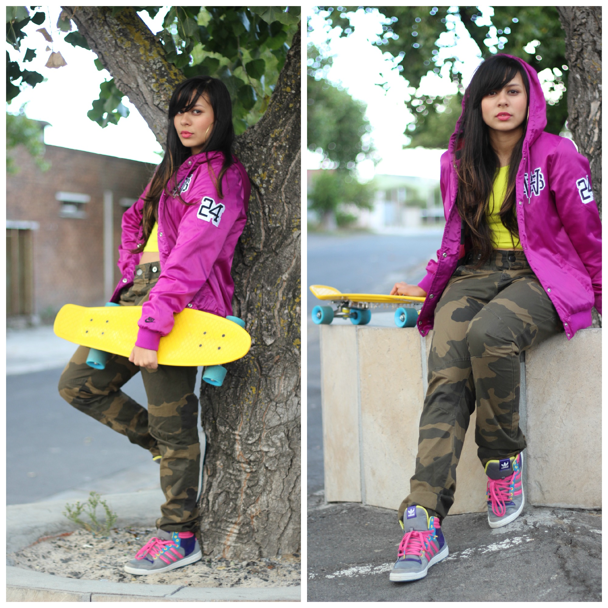 Look Post|Skater Girl for a day | CherryHeartsblog